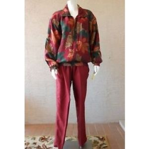Leisure After Sport Jacket Draw String Pants VTG
